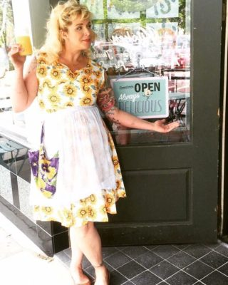 Meg Heriford and the Ladybird Diner always offer a dose of sunshine (and pie)